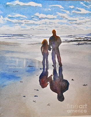 Painting - Higgins Beach by Andrea Timm