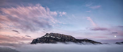 High Above The Clouds Print by Jon Glaser