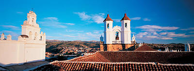 Iglesia Photograph - High Angle View Of A City, San Felipe by Panoramic Images