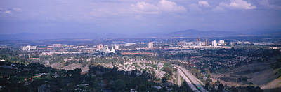 Panoramic Of San Diego Photograph - High Angle View Of A Temple In A City by Panoramic Images