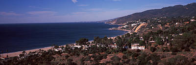 High Angle View Of An Ocean, Malibu Print by Panoramic Images