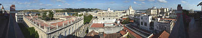 Rooftop Photograph - High Angle View Of The City, Havana by Panoramic Images