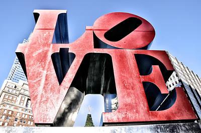 Love Park Digital Art - High Definition Love by Bill Cannon