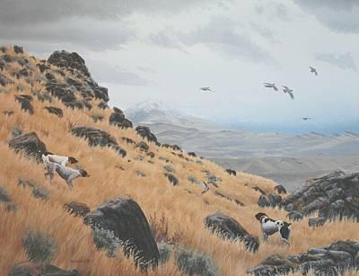 High Desert Dreams Print by Peter Mathios