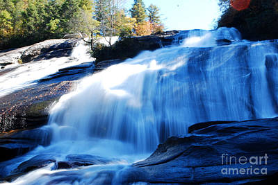Mountains Photograph - High Falls by Manda Renee