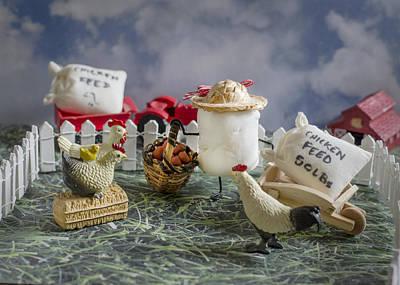 Barn Photograph - High Fructose Farming by Heather Applegate