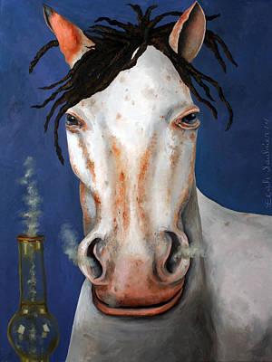 High Horse Edit 2 Print by Leah Saulnier The Painting Maniac