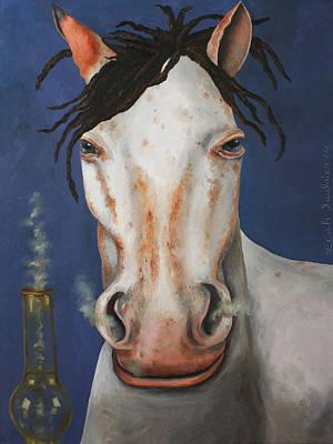High Horse Print by Leah Saulnier The Painting Maniac