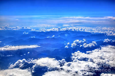 Climate Photograph - High In The Sky by Michal Bednarek