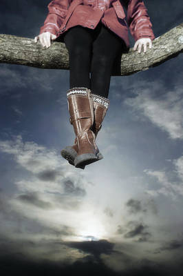 High Over The World Print by Joana Kruse
