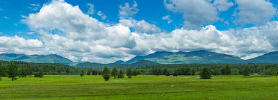 High Peaks Area Of The Adirondack Print by Panoramic Images