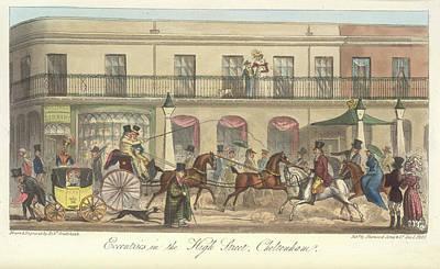 High Street Photograph - High Street Cheltenham by British Library