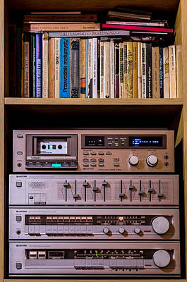 Tape Player Photograph - High Technology by Tgchan