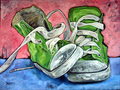 High Top Original by Donna Ellery