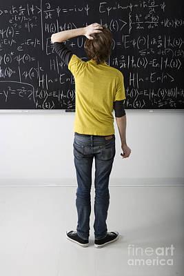 Calculus Photograph - Higher Math by Diane Diederich