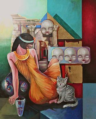 Higher Myth Print by Assem Omar