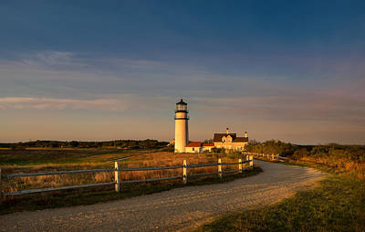 Lighthouse Photograph - Highland Light Sunrise by Betty Wiley