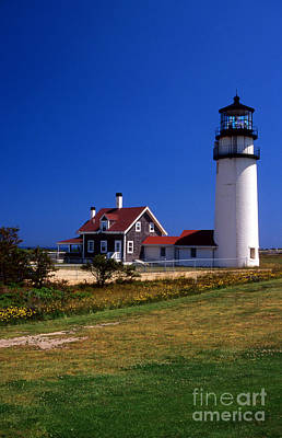 Cape Cod Mass Photograph - Highland Or Cape Cod Lighthouse by Skip Willits