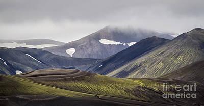 Nordic Photograph - Highlands by Evelina Kremsdorf