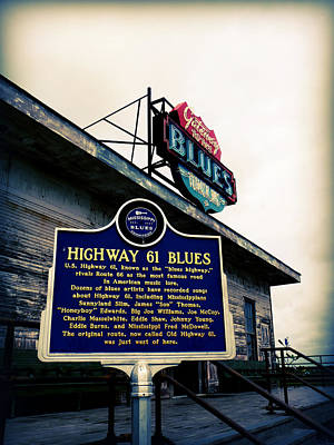 Mission Ventures Photograph - Highway 61 Blues by Terry Eve Tanner