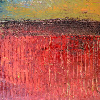 Tranquil Painting - Highway Series - Cranberry Bog by Michelle Calkins