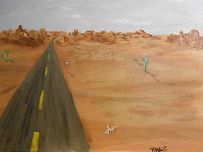 Highway To Hell Original by Brian Peterson