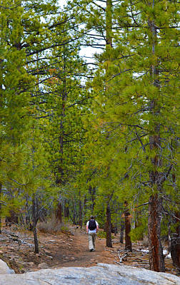 Outdoors Photograph - Hike On 4 by Brent Dolliver