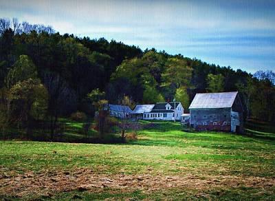 Hill Farm Original by Joy Nichols