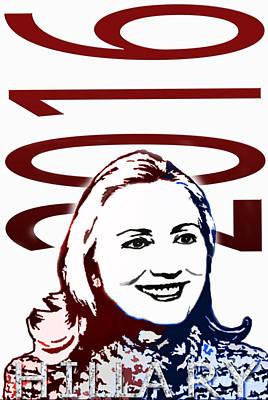 Hillary Clinton Photograph - Hillary 2016 by Jost Houk