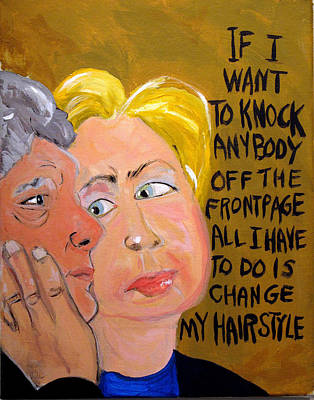 Hillary Print by Jennie Cooley