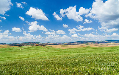 Italia Photograph - Hills Of Tuscany by JR Photography