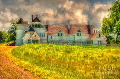 Hilltop Farm Print by Lois Bryan