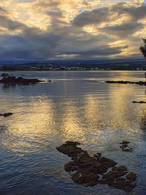 Hawaii Dog Photograph - Hilo Hawaii Bay  by Daniel Hagerman