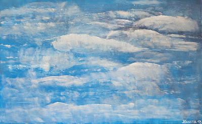 Himmlisch Wolkenvoll Original by Bonita Wangerin