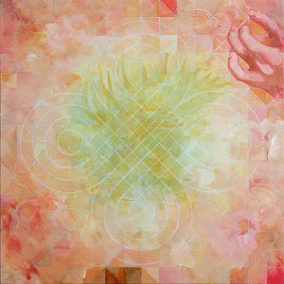 Contemporary Painting - Hindbrain by Sandra Cohen