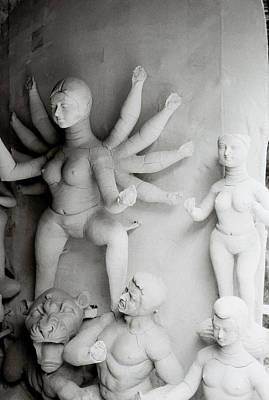 Goddess Durga Photograph - Hindu Sculpture by Shaun Higson