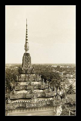 Patuxai Photograph - Hindu Tower by Weston Westmoreland