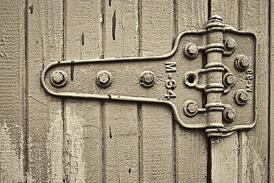 Latch Photograph - Hinged by Marcia Colelli