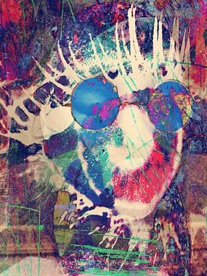 Hippies Call Out  Print by JC Photography and Art
