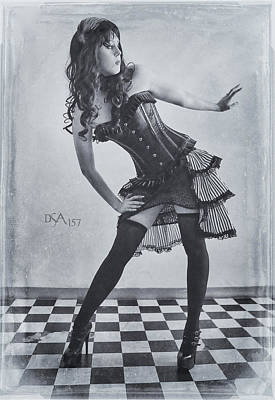 Steampunk Photograph - Hips Cocked by David April
