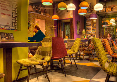 Architecture Photograph - Hipster Cafe by Matthew Bamberg