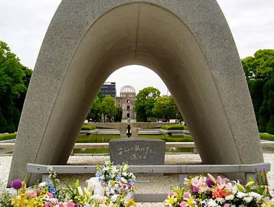 Hiroshima Cenotaph Print by Duomo Photography