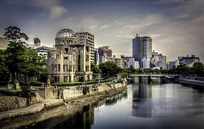 Hiroshima Print by Gary Fossaceca