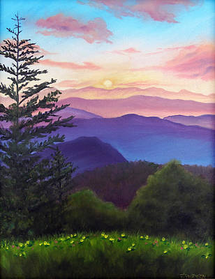 Pigeon Forge Painting - His Mercies Are New Every Morning by Joan Swanson