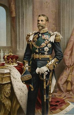 His Royal Highness The Prince Of Wales Print by Samuel Begg