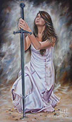 Painting - His Sword by Ilse Kleyn