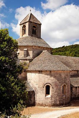 Historic Abbaye De Senanque Print by Brian Jannsen