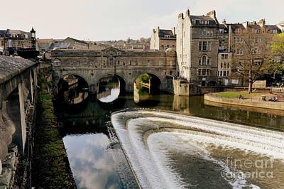Historic Bath Print by Paul Cowan