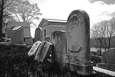 Cemetery Photograph - Historic Cemetery by Jennifer Ancker