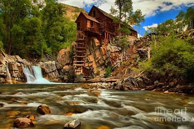 Historic Colorado Landscape Print by Adam Jewell